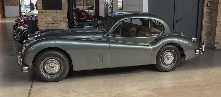 Auto, Jaguar, Coupe, Oldtimer, Classic, Vehicle, Show