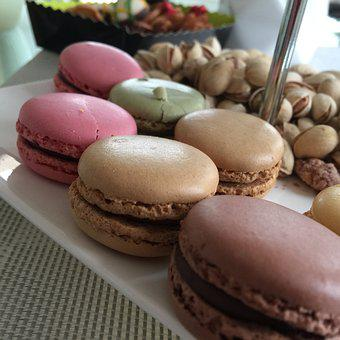 Food, Dessert, Chocolate, Candy, Biscuit, Macrons
