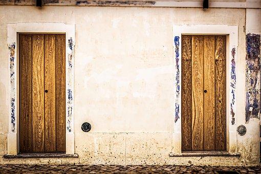 House, Door, Wood, Doorway, Entrance, Architecture