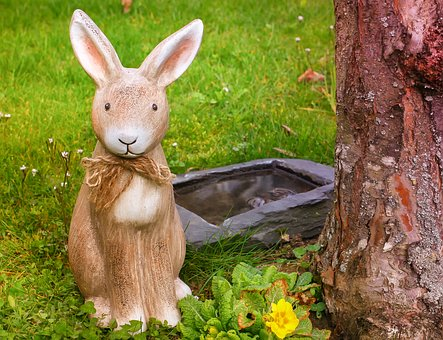 Easter Bunny, Easter, Rabbit Ears, Grass, Meadow, Green