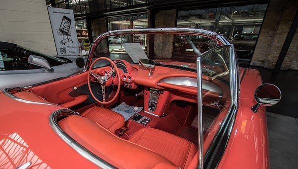 Auto, Chevrolet, Corvette, Interior, Cockpit