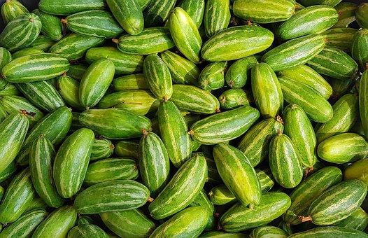 Cucumber, Lemon Cucumber, Vegetable, Food, Healthy