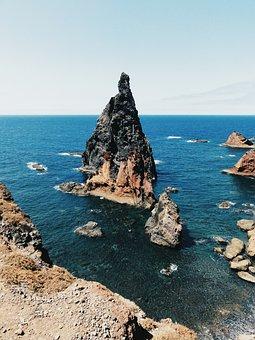 Costa, Body Of Water, Mar, Trip, Beach, Rock, Ocean