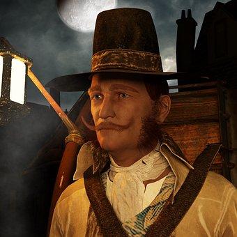 Man, Portrait, M, Music, Clothing, Middle Ages, Lantern
