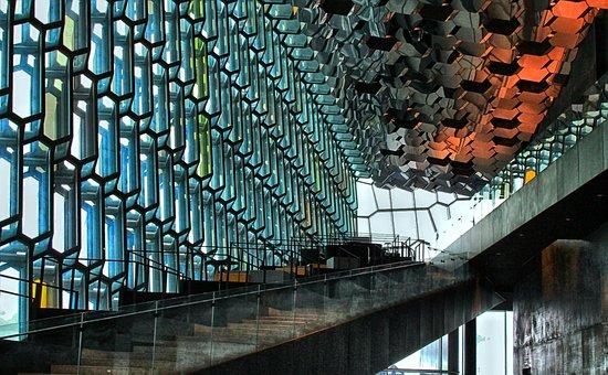 Architecture, Reykjavik, Travel, Vacation, Scene