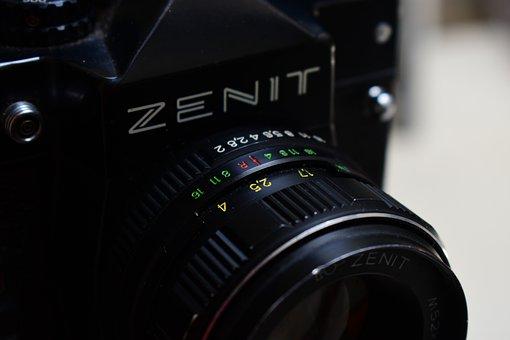 Lens, Shutter, Opening, Zoom