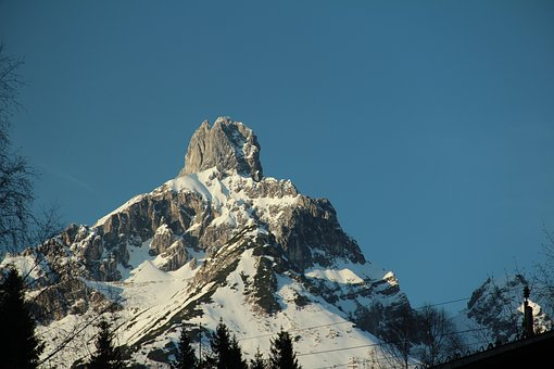 Snow, Mountain, Winter, Nature, Cold, Sky, Ice