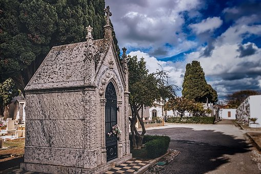 Cemetery, Tomb, Architecture, Old, Stone, Urban