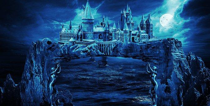 Water, Sea, Nature, Ocean, Travel Castle