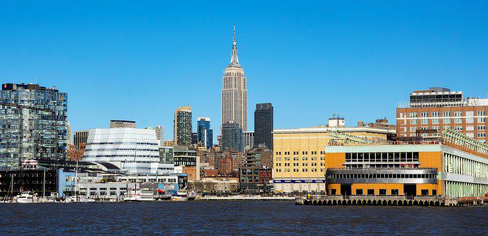 Travel, Water, City, Sky, Architecture, New York, Nyc