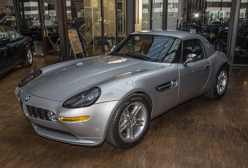 Auto, Bmw, Sports Car, Modern, Vehicle, Coupe