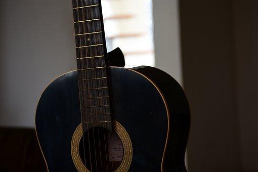 Guitar, Sound, Music, Wood