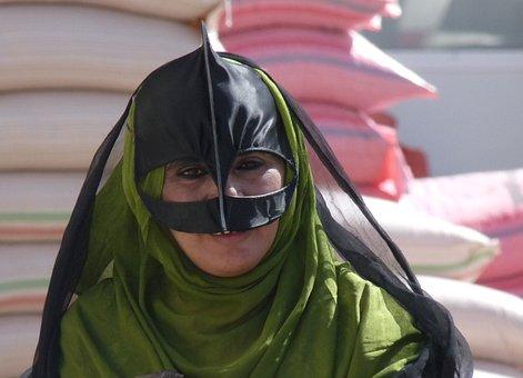 Bedouin Woman, Arabic, Nomad, Oman