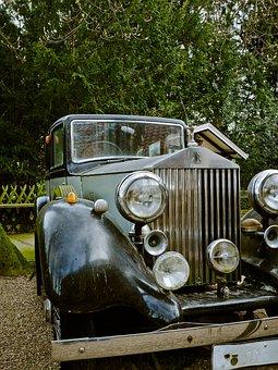 Rolls Royce, Auto, Cool Figure, Fig, Automotive, Metal