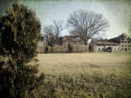 Folwark, Castle, Farm, House, Barn, Open Air Museum