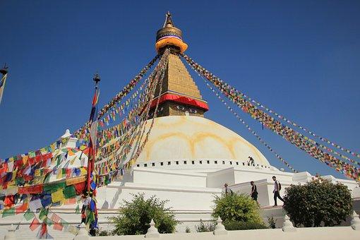 Nepal, Boudhanath, Stupa