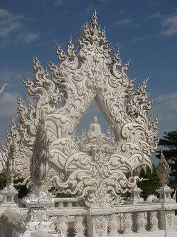 Wat Rong Khun, City, Chiang Rai, Thailand