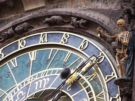 Astronomical Clock, Dead, Time, Clock, Prague, Watches