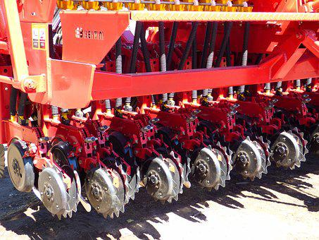 Farm Equipment, Seeder, Discs, Rural Tool