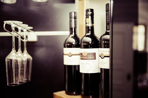 Wine, Glass, Wine Glass, Glasses, Transparent, Red
