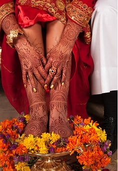 Henna, Bride, Wedding, Culture, Fashion, Marriage