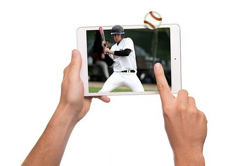 Tablet, 3d, Baseball, Sport, Display, Ipad, Iman
