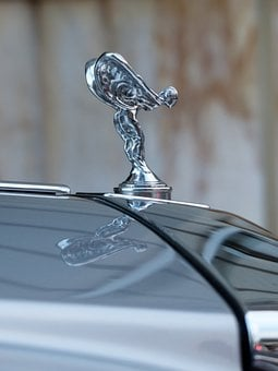 Spirit Of Ecstasy, Emily, Fig, Logo, Brand, Silver
