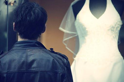 Man, Young, Marry, Dress, Wedding Dress, Love, Feelings