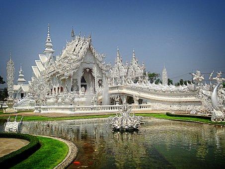 Measure, Wat Rong Khun, Chiang Rai Province, Thailand