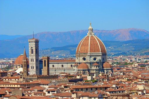 Florence, Italy, Dome, Tuscany, Duomo, Monument