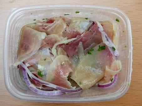 Ochsenmaulsalat, Meat Salad, Mouth Meat, Beef, Vinegar