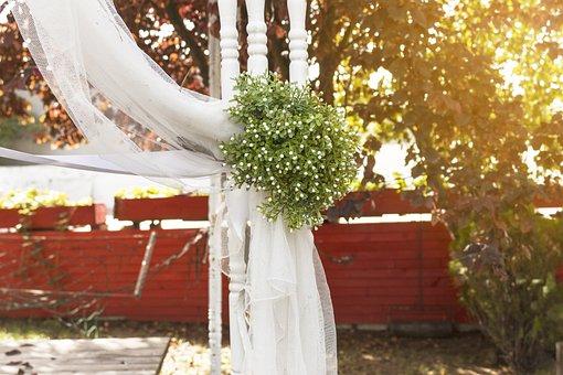 Wedding, Ornament, Jewelry, Ceremony, Pergola, Flower