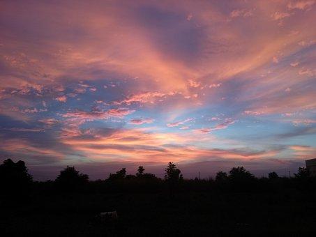 Sunset, Pm Ta, Tranquil