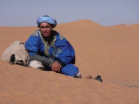 Desert, Morocco, Bedouin, Residents, Africa, Marroc