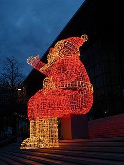 Santa Claus, Christmas, Atmosphere, Advent