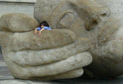 Figure, Statue, Sculpture, Head, Portrait, Monument