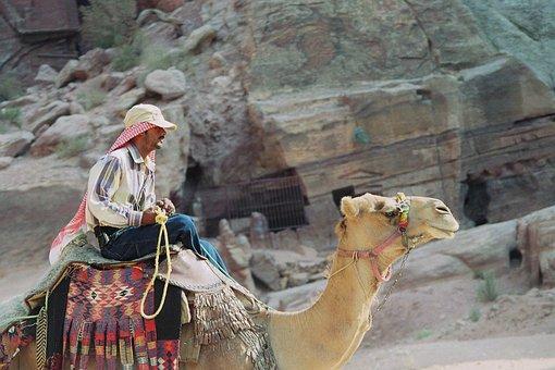 Disney, Bedouin, Dromedary, Petra, The Red