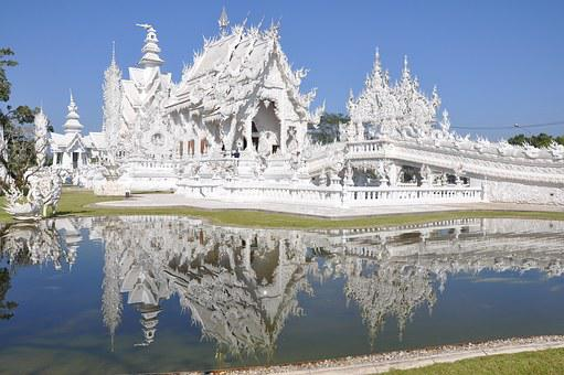 Church, The White Temple, Wat Rong Khun