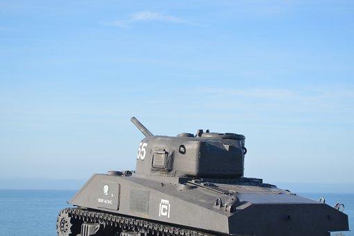 Char, Tank, War, Second World War, Normandy, Battle