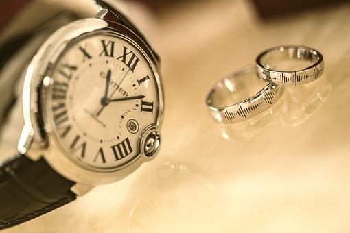 Blue Balloons, Watch, Ring, Wedding, Cartier, Staples