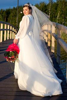 Wedding, Wedding Dress, A New Way Of Life, White, Bride