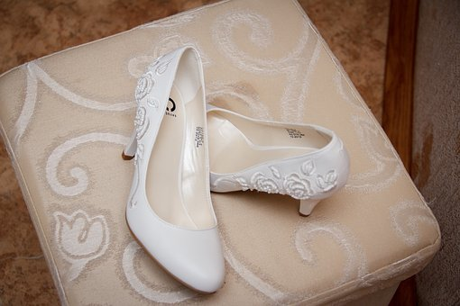 Shoes, Bride, Wedding