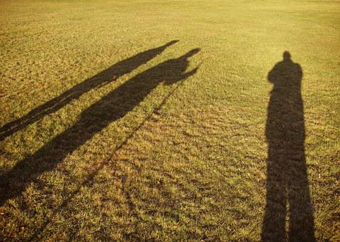 Shadows, Men, Three, Wise, Long, Silhouette, People