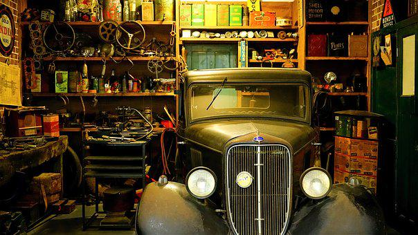 Workshop, Garage, Mechanic, Car, Auto, Service, Repair