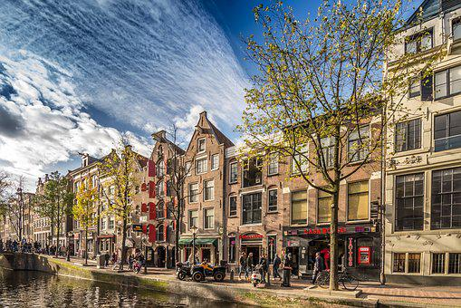 Architecture, Outdoors, City, Travel, Street, Amsterdam