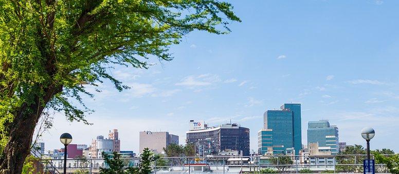 City, Panoramic, Architecture, Sky, Travel, Skyline