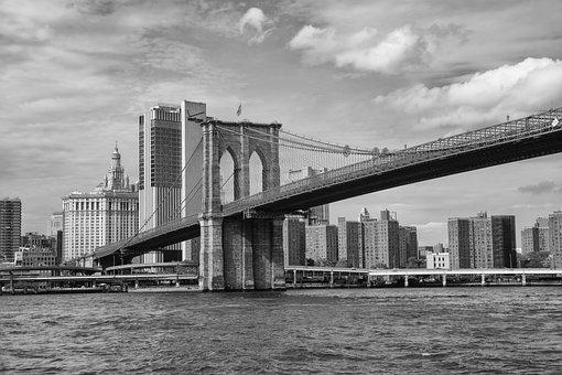 River, Bridge, Architecture, City