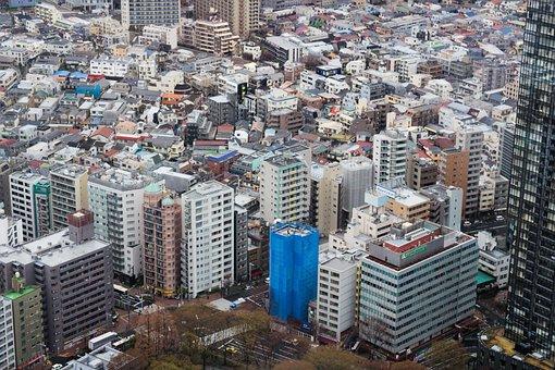 City, Cityscape, Skyscraper, Skyline, Aerial