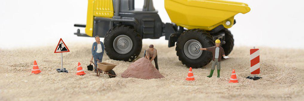 Site, Construction Workers, Build, Construction Work