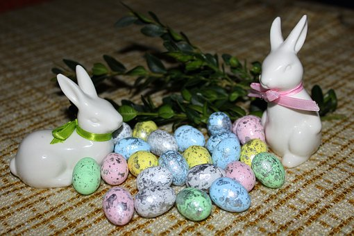 Easter, Eggs, Bunnies, Decoration, The Ceremony